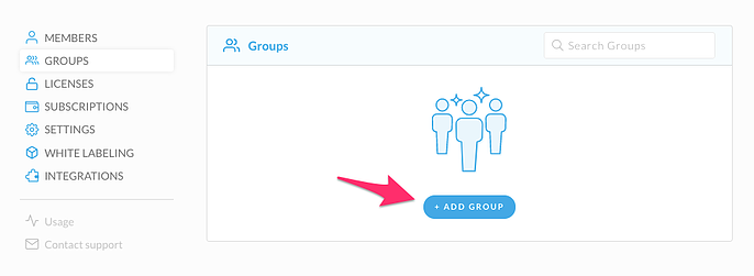 Groups Add Groupd