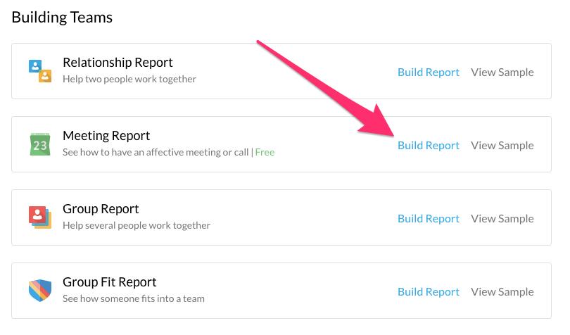 meeting report 1